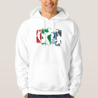 Avengers Classics   Paint Swatch Silhouettes Hoodie