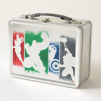 Avengers Classics | Paint Swatch Silhouettes Metal Lunch Box