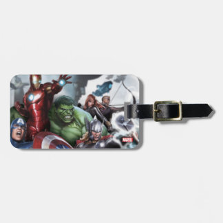 Avengers Classics | Poised For Battle Drawing Bag Tag