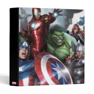 Avengers Classics | Poised For Battle Drawing Binder