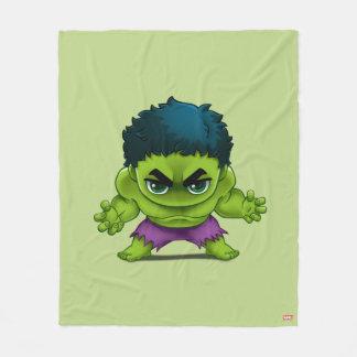Avengers Classics | The Hulk Stylized Art Fleece Blanket