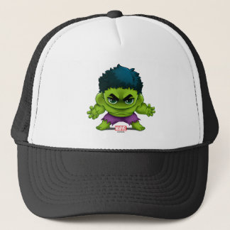 Avengers Classics | The Hulk Stylized Art Trucker Hat