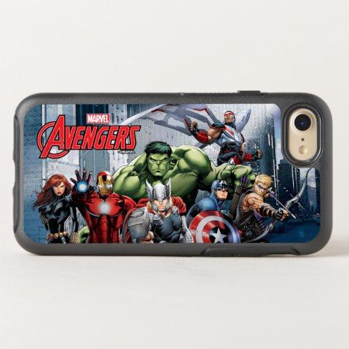 Avengers Classics   Thor Leading Avengers Phone Case