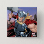 Avengers Classics | Thor Leaping With Mjolnir Button