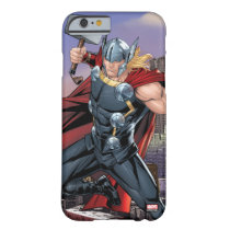 Avengers Classics | Thor Leaping With Mjolnir Barely There iPhone 6 Case