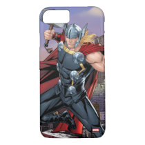 Avengers Classics | Thor Leaping With Mjolnir iPhone 8/7 Case