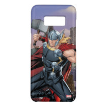 Avengers Classics | Thor Leaping With Mjolnir Case-Mate Samsung Galaxy S8 Case