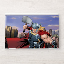 Avengers Classics | Thor Leaping With Mjolnir HP Laptop Skin