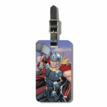 Avengers Classics | Thor Leaping With Mjolnir Luggage Tag