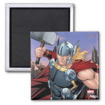 Avengers Classics | Thor Leaping With Mjolnir Magnet