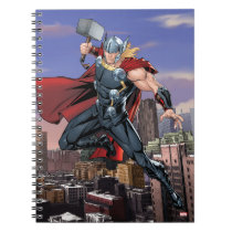 Avengers Classics | Thor Leaping With Mjolnir Notebook