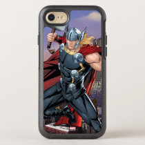 Avengers Classics | Thor Leaping With Mjolnir OtterBox Symmetry iPhone 8/7 Case