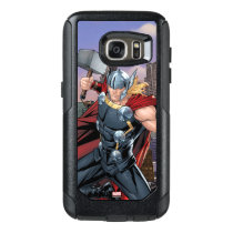 Avengers Classics | Thor Leaping With Mjolnir OtterBox Samsung Galaxy S7 Case