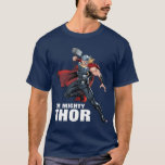 Avengers Classics | Thor Leaping With Mjolnir T-Shirt