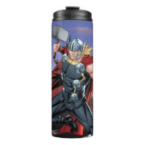 Avengers Classics | Thor Leaping With Mjolnir Thermal Tumbler