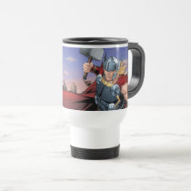 Avengers Classics | Thor Leaping With Mjolnir Travel Mug