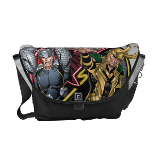 Avengers Classics | Thor Versus Loki Courier Bag