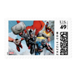 Avengers Classics | Traversing Through Snowy Mount Postage Stamp