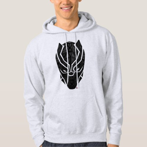 Avengers Classics  Tribal Black Panther Head Hoodie