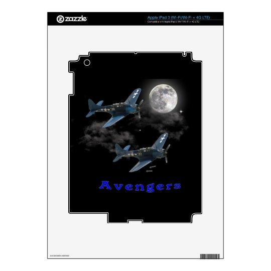 Avengers Dive Bombing iPad 3 Skins