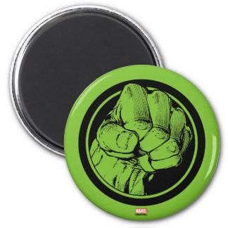 Avengers Hulk Fist Logo 2 Inch Round Magnet