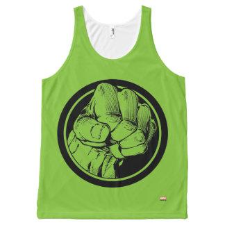 Avengers Hulk Fist Logo All-Over-Print Tank Top