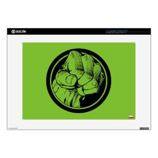 Avengers Hulk Fist Logo Decal For Laptop