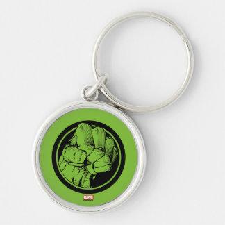 Avengers Hulk Fist Logo Keychain