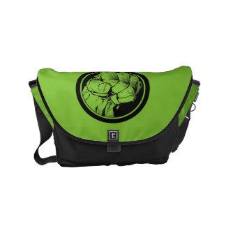 Avengers Hulk Fist Logo Small Messenger Bag