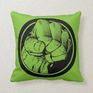 Hulk Decorative Pillow : Hulk Logo Pillows - Decorative & Throw Pillows Zazzle