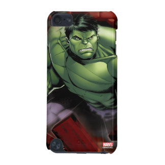 Avengers Hulk Smashing Through Bricks iPod Touch 5G Cover