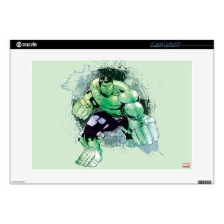 "Avengers Hulk Watercolor Graphic 15"" Laptop Skins"