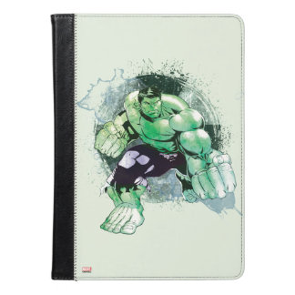 Avengers Hulk Watercolor Graphic iPad Air Case