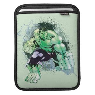 Avengers Hulk Watercolor Graphic iPad Sleeve