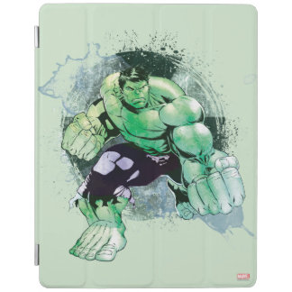 Avengers Hulk Watercolor Graphic iPad Smart Cover