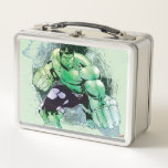"""Avengers Hulk Watercolor Graphic Metal Lunch Box<br><div class=""""desc"""">Hulk 