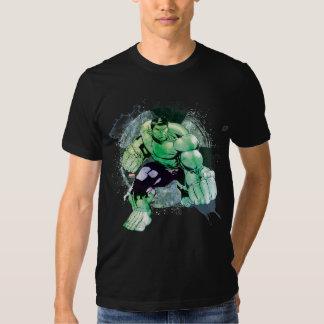 Avengers Hulk Watercolor Graphic T-Shirt