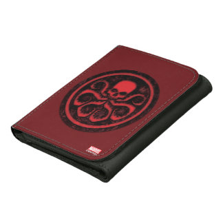 Avengers | Hydra Logo Leather Trifold Wallet