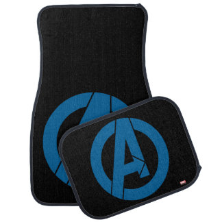 Avengers Logo Car Floor Mat