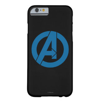 Avengers Logo Barely There iPhone 6 Case