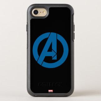 Avengers Logo OtterBox Symmetry iPhone 8/7 Case