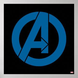 Avengers Logo Poster