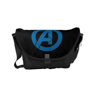 Avengers Logo Small Messenger Bag