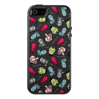 Avengers Simple Line Art Toss Pattern OtterBox iPhone 5/5s/SE Case