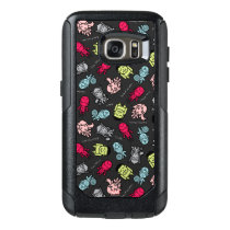 Avengers Simple Line Art Toss Pattern OtterBox Samsung Galaxy S7 Case