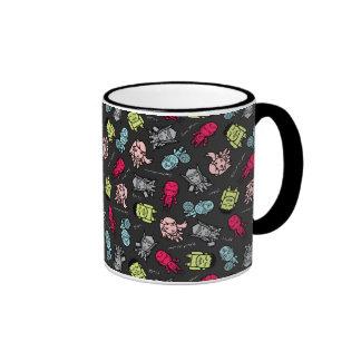 Avengers Simple Line Art Toss Pattern Ringer Mug