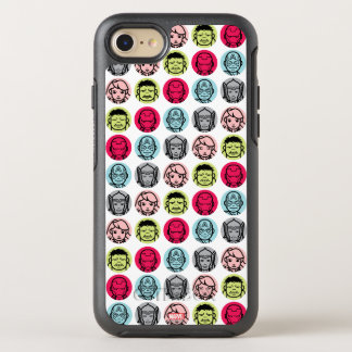 Avengers Stylized Line Art Icons Pattern OtterBox Symmetry iPhone 7 Case