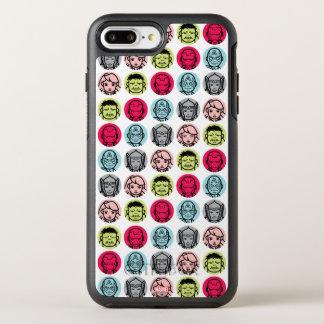 Avengers Stylized Line Art Icons Pattern OtterBox Symmetry iPhone 7 Plus Case