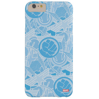 Avengers Symbols Pattern Barely There iPhone 6 Plus Case