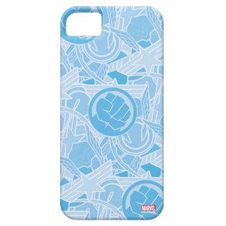 Avengers Symbols Pattern iPhone SE/5/5s Case